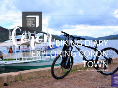 Coron Biking Diary Exploring Coron Town