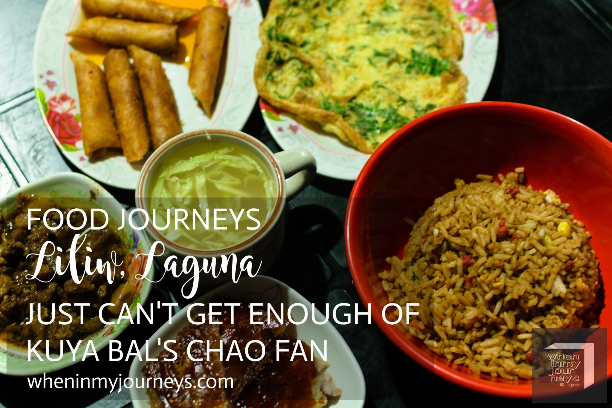 Food Journeys Liliw Laguna - Just Can't Get Enough of Kuya Bal's Chao Fan