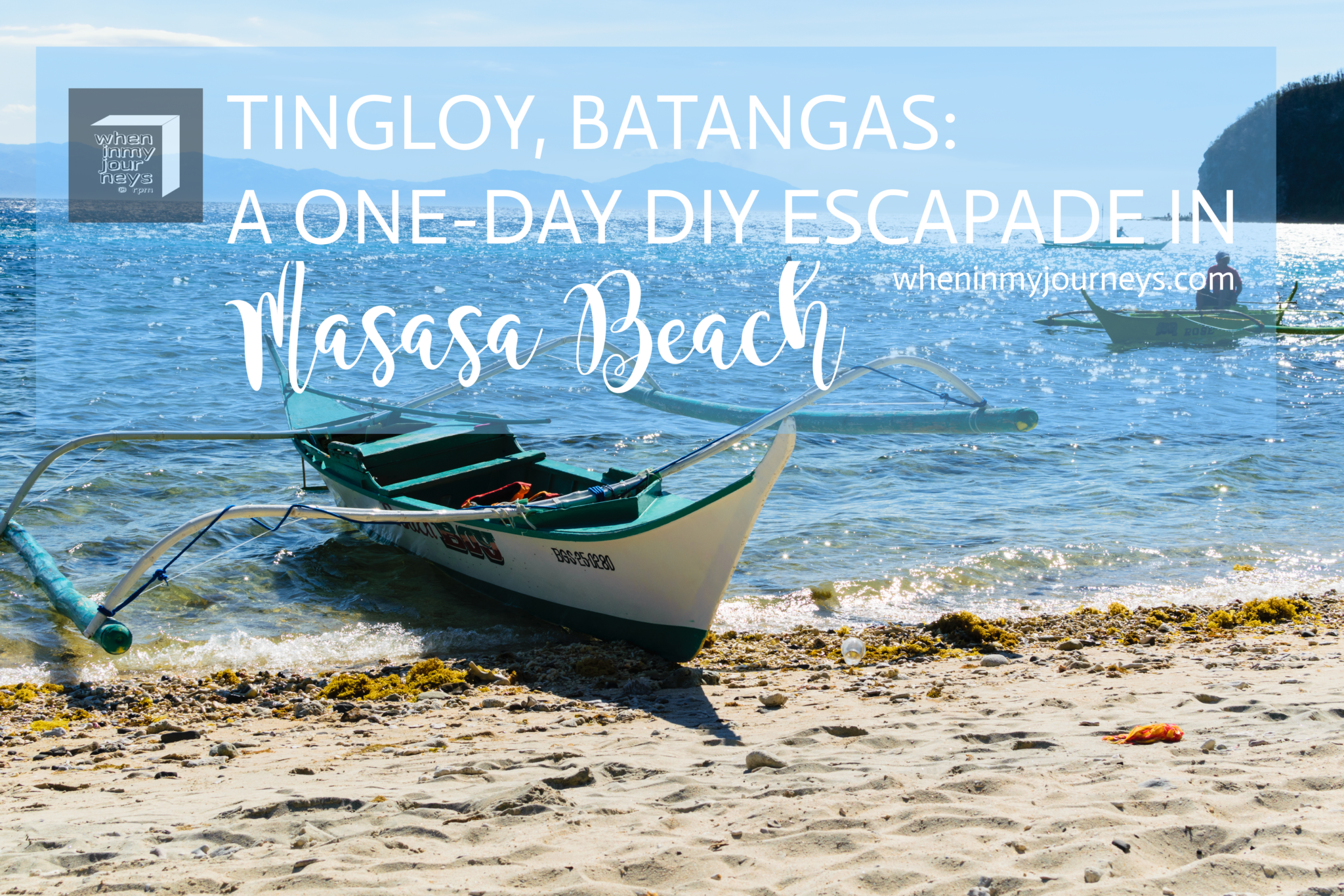 Tingloy Batangas - A One-Day DIY Escapade in Masasa Beach